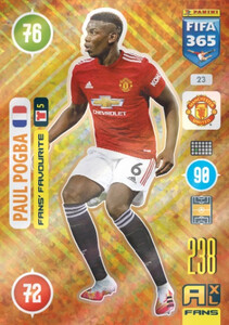 2021 FIFA 365 FANS' FAVOURITE Paul Pogba #23