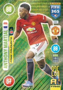 2021 FIFA 365 FANS' FAVOURITE Anthony Martial #24