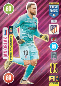 2021 FIFA 365 FANS' FAVOURITE Jan Oblak #26