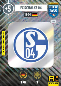 2021 FIFA 365 CLUB BADGE LOGO FC Schalke #46