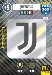 2021 FIFA 365 CLUB BADGE LOGO Juventus #52