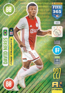 2021 FIFA 365 FANS' FAVOURITE David Neres #63
