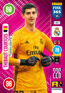 2021 FIFA 365 TEAM MATE Thibaut Courtois #69
