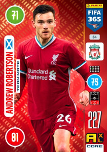 2021 FIFA 365 TEAM MATE Andrew Robertson #84