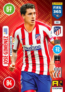 2021 FIFA 365 TEAM MATE Jose Gimenez #90