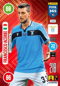 2021 FIFA 365 TEAM MATE Francesco Acerbi #113