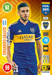 2021 FIFA 365 TEAM MATE Eduardo Salvio #126