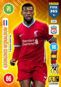 2021 FIFA 365 TEAM MATE Georginio Wijnaldum #132