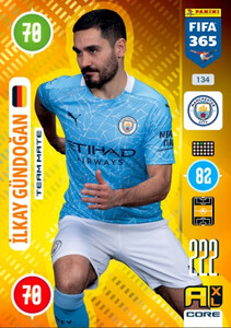 2021 FIFA 365 TEAM MATE Jllkay Gundogan #134