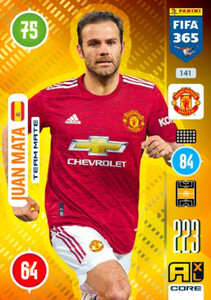 2021 FIFA 365 TEAM MATE Juan Mata #141