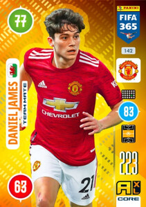 2021 FIFA 365 TEAM MATE Daniel James #142
