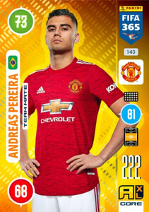 2021 FIFA 365 TEAM MATE Andreas Pereira #143