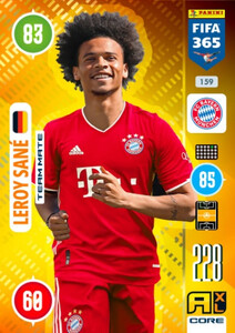 2021 FIFA 365 TEAM MATE Leroy Sane #159