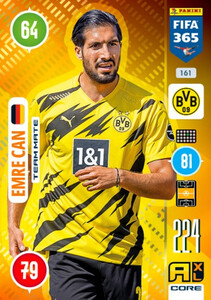 2021 FIFA 365 TEAM MATE Emre Can #161