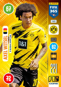 2021 FIFA 365 TEAM MATE Axel Witsel #162