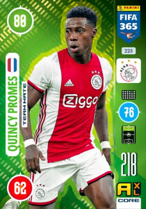 2021 FIFA 365 TEAM MATE Quincy Promes #225