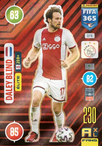 2021 FIFA 365 ELITE Daley Blind #278