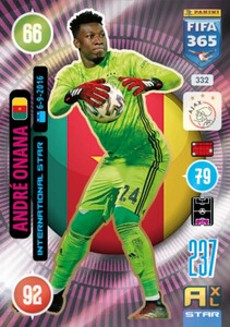 2021 FIFA 365 INTERNATIONAL STAR Andre Onana #332