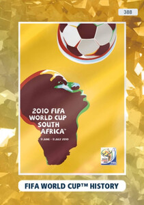 2021 FIFA 365 FIFA WORLD CUP HISTORY - 2010 South Africa #388