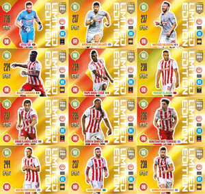 FIFA 365 2021 LIMITED Olympiacos - Komplet 12 kart Limited