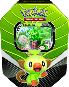 Pokemon TCG Power Tin Galar Partners RILLABOOM V
