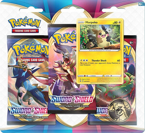 Pokemon TCG: Sword & Shield 3x Booster Morpeko