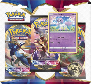 Pokemon TCG: Sword & Shield 3x Booster Galarian Ponyta