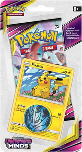 Pokemon TCG: Sun & Moon Unified Minds Checklane Blister - PIKACHU