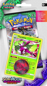 Pokemon TCG: Sun & Moon Guardians Rising Checklane Blister Tsareena