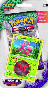 Pokemon TCG: Sun & Moon Guardians Rising Checklane Blister Lurantis