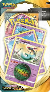 Pokemon TCG: Pokemon TCG; Sword and Shield - Darkness Ablaze PREMIUM Checklane Blister Dragapult