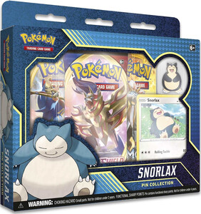 Pokemon TCG; Snorlax Pin Collection