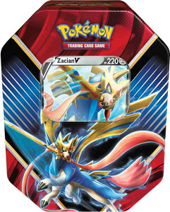 Pokemon TCG; Sword & Shield - Rebel Clash Legends of Galar - Zacian V