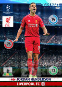 2014/15 CHAMPIONS LEAGUE® TEAM MATE Jordan Henderson #157