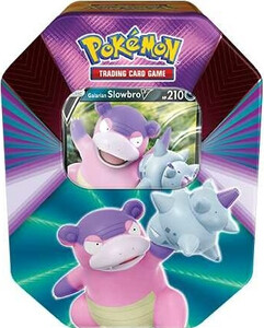 Pokemon TCG; V Forces Tin Spring 2021 Slowbro
