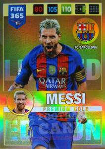 2017 FIFA 365 LIMITED EDITION  Lionel Messi