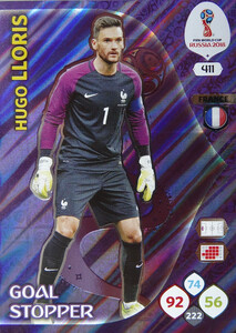 WORLD CUP RUSSIA 2018 GOAL STOPPER LLORIS 411