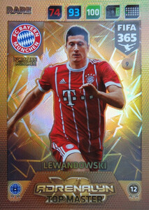 2018 FIFA 365 TOP MASTER - Robert Lewandowski #9