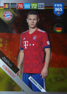 2019 FIFA 365 GERMAN STAR Joshua Kimmich #406