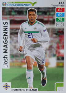 ROAD TO EURO 2020 TEAM MATE Josh Magennis 144