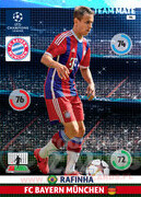 2014/15 CHAMPIONS LEAGUE® TEAM MATE Rafinha #94