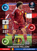 ROAD TO EURO 2016 TEAM MATE Marouane Fellaini #31