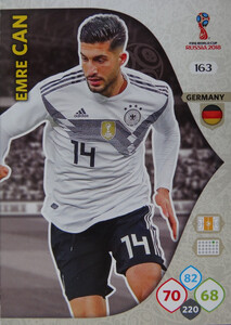 WORLD CUP RUSSIA 2018 TEAM MATE NIEMCY EMRE CAN 163