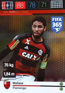 2016 FIFA 365 DEFENSIVE ROCK Wallace #252