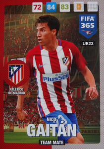 UPDATE 2017 FIFA 365 TEAM MATE 	Nico Gaitán #23
