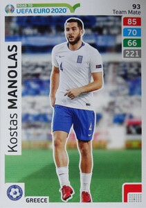 ROAD TO EURO 2020 TEAM MATE  Kostas Manolas 93