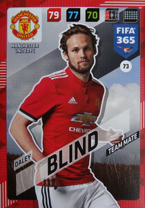 2018 FIFA 365 TEAM MATE Daley Blind #73