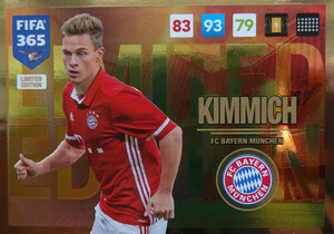 UPDATE 2017 FIFA 365 LIMITED KIMMICH