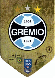 2019 FIFA 365 FANS CLUB BADGE LOGO GREMIO 280