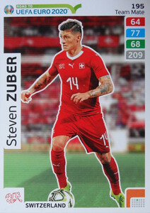 ROAD TO EURO 2020 TEAM MATE  Steven Zuber 195
